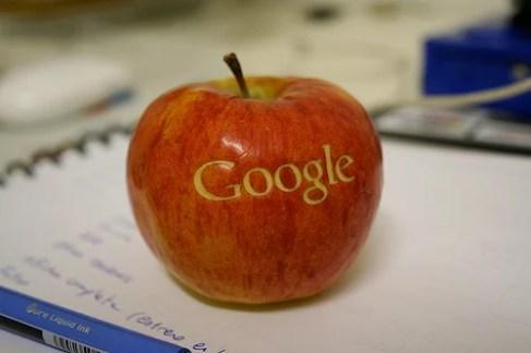 Les relations entre Google et Apple se seraient apaisées