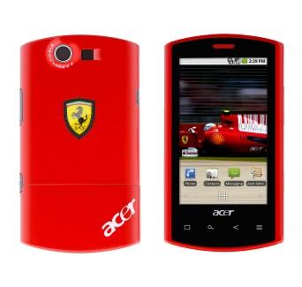 Acer présente le Liquid E Ferrari édition spéciale