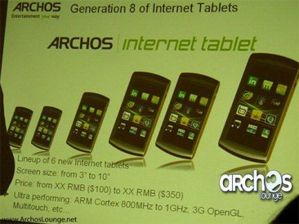 Archos : l'Archos 32 et le retour de l'Archos Phone ?