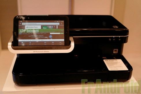 Prise en main de l'imprimante HP Photosmart eStation avec sa tablette Zeen sous Android