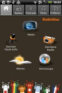 RadioMee, une plateforme radiophonique sur Android