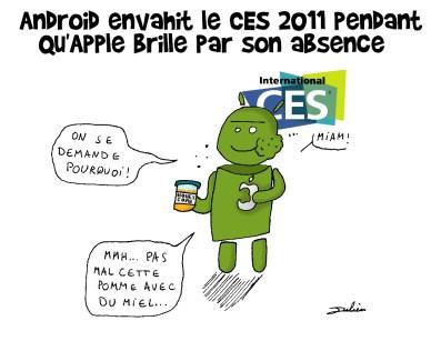 Android en 2011: Plus grand, plus rapide, plus mince, plus léger