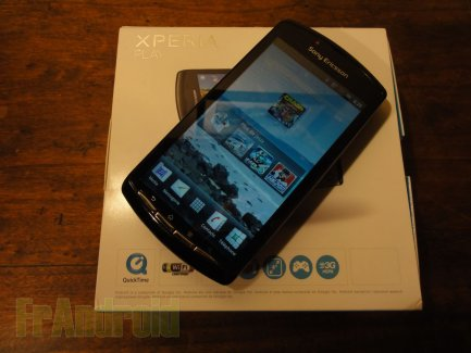 Test du Sony Ericsson XPERIA Play sous Android