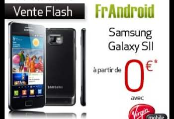 Vente flash : Le Samsung Galaxy S2 avec 50 euros de réduction immédiate