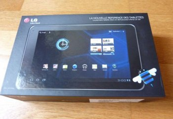Test de la tablette LG Optimus Pad sous Android