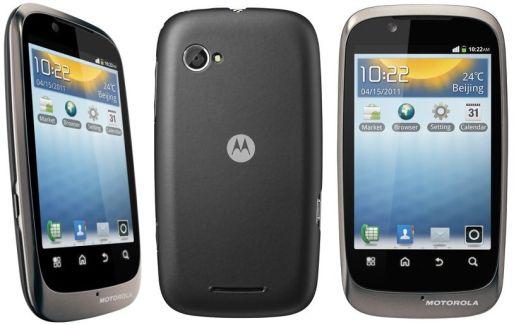 Motorola XT531, de l'entrée de gamme sous Android 2.3