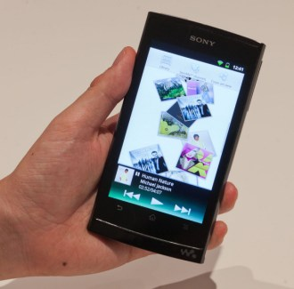 Sony a montré son premier Walkman sous Android
