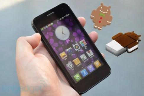 En octobre, le MI-One passera à Android 2.3.5, et à Ice Cream Sandwich en janvier
