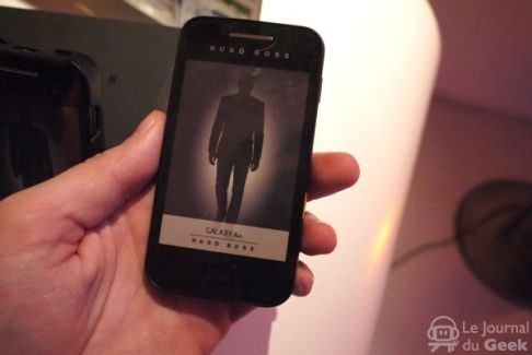 Un Samsung Galaxy Ace Hugo Boss arrivera chez The Phone House