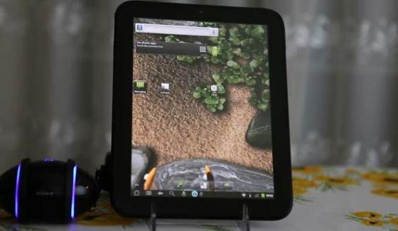 HP TouchPad : CyanogenMod alpha disponible mais…
