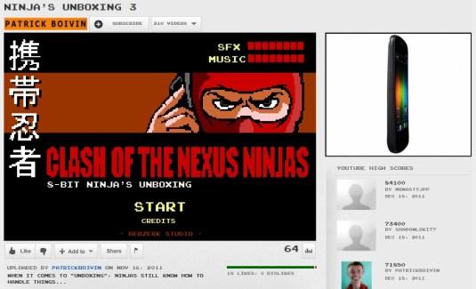 Déballage du Galaxy Nexus par les Ninjas !
