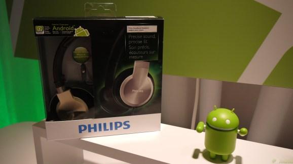 Philips présente de nouveaux casques compatibles Android