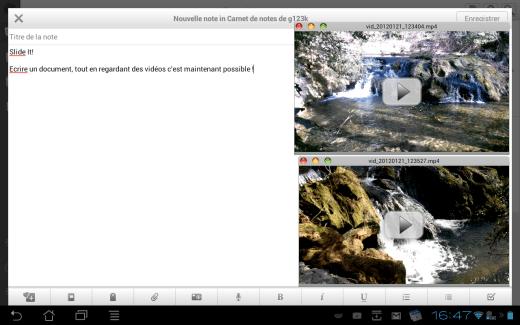 StickIt : une application pour faire du multi-fenêtre avec des vidéos sur Android