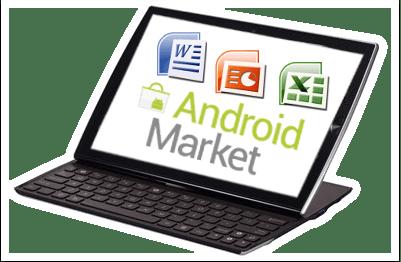 Comparatif des suites bureautiques Android