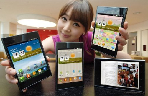 LG officialise l'Optimus Vu, son concurrent au Galaxy Note