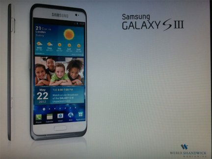 Le Samsung Galaxy S3 en photo ?