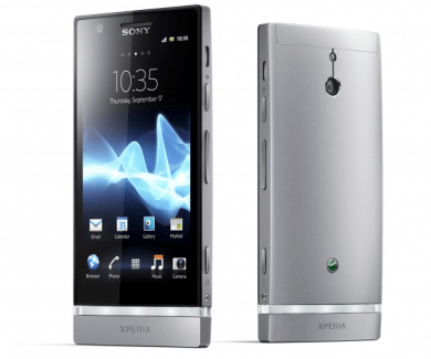 Test du Sony Xperia P