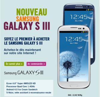 Galaxy S3 : Orange, LDLC et The Phone House également de la partie en France !