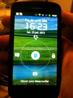 Test du Huawei Ascend G300 (U8815), un smartphone entrée de gamme aussi efficace que pas cher