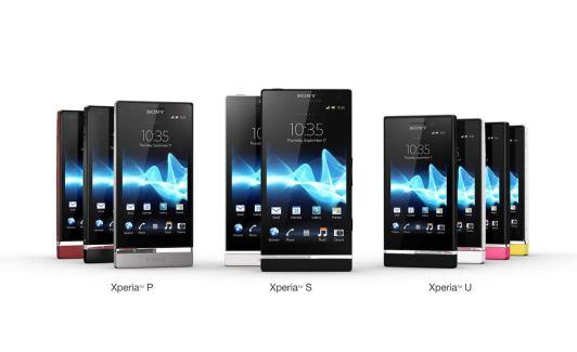 Présentation de la gamme de smartphones de Sony Mobile