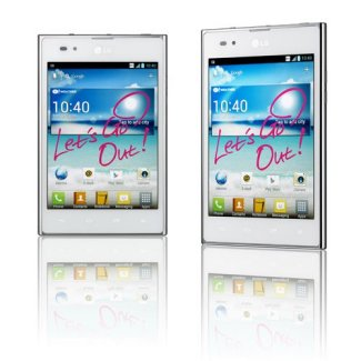 Septembre pour le LG Optimus Vu en Europe