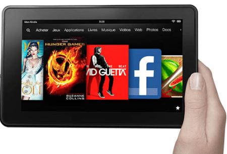 Les Amazon Kindle Fire 7 pouces en précommande en France : livraison prévue à partir du 25 octobre