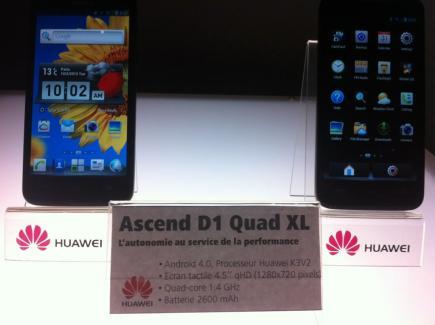 Huawei donne les disponibilités de ses smartphones en France