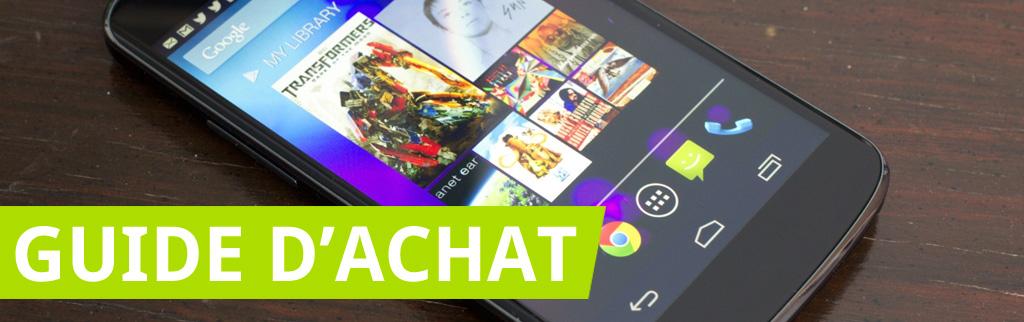 Guide d'achat : les 5 meilleurs smartphones en attendant l'IFA 2014