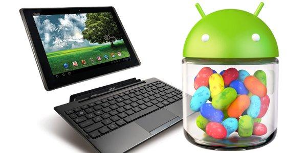 Asus : Android 4.2 sur les dernières tablettes