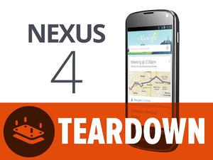 Le Nexus 4 possède une puce LTE
