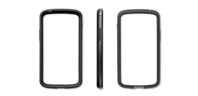 Le bumper officiel du Nexus 4 est listé sur le Play Store