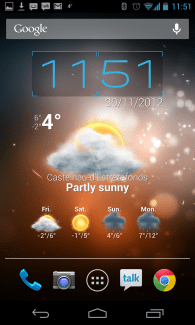 Beautiful Widgets, la version 5.0 est disponible sur Google Play