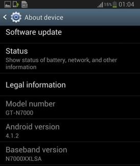 Samsung reporte la mise à jour des Galaxy S II et Note à 2013