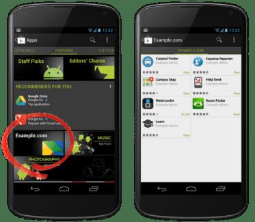 Google Play Private Channel, la distribution d'applications pour les entreprises