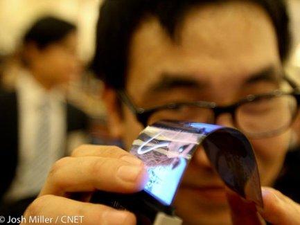 LG confirme la production en masse de ses écrans flexibles pour la fin 2013
