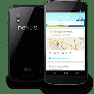 Le Nexus 4 sera de nouveau disponible au Canada à 15h heure de Montréal (maintenant)
