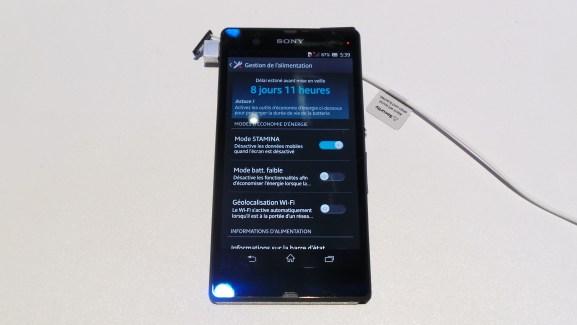 CES 2013 : Présentation du mode Stamina sur les nouveaux smartphones Sony
