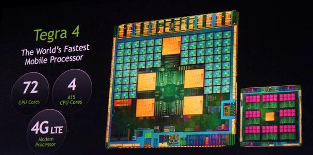 CES 2013 : le NVIDIA Tegra 4 officiel avec 4 + 1 coeurs, 28 nm et 72 GPU
