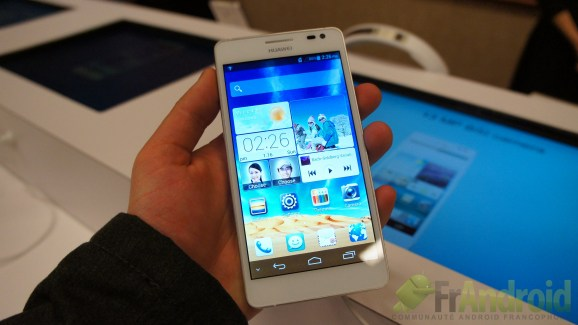 CES 2013 : Prise en main du Huawei Ascend D2