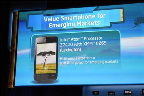 CES 2013 : Intel dévoile le processeur Atom «Lexington» Z2420