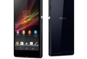Officiel : prix et date de disponibilité du Sony Xperia Z en France