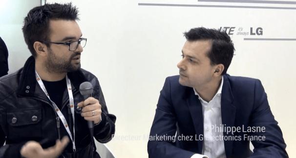 Interview chez LG, Philippe Lasne : «nous souhaitons démocratiser la 4G»