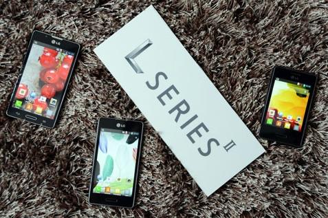 LG officialise ses Optimus L3 II, L5 II et L7 II