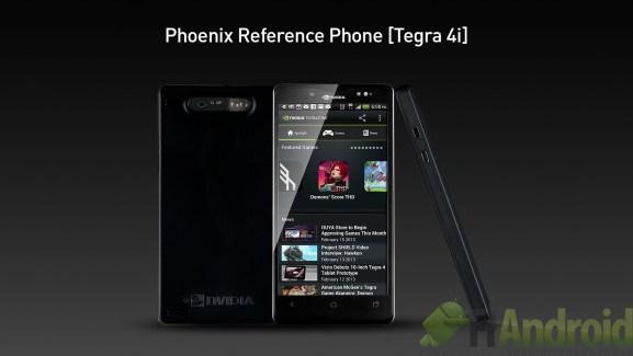 Nvidia Phoenix, le prototype de smartphone sous Tegra 4i