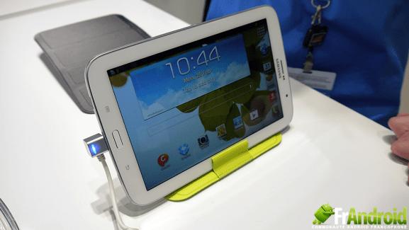 Présentation des accessoires de la Samsung Galaxy Note 8.0