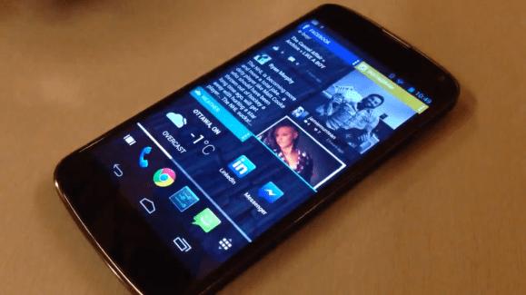 Une première vidéo pour le launcher Chameleon sur smartphone