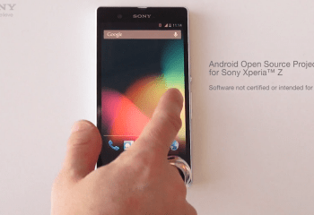 Sony ajoute le Xperia Z à l'AOSP (Android Open Source Project)