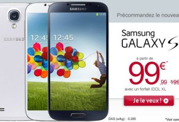 Le Galaxy S4 arrive en précommande chez Virgin Mobile