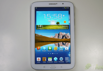 Test de la Samsung Galaxy Note 8.0