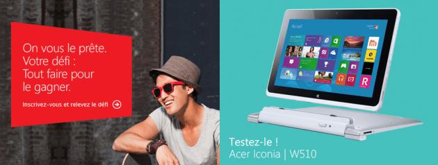 Bon plan : testez et tentez de gagner un PC Windows 8 grâce à FraWin et Try and Like it